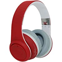 Fanny Wang 2000 Series Over Ear DJ Headphone with Remote  -Red/White