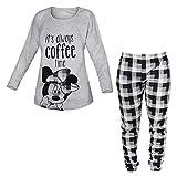 pigiama ragazza lungo in cotone jersey sette nani DISNEY junior art WD22947