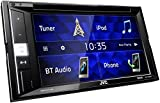 JVC KW-V250BT Multimedia-2-Din-Autoradio mit 15,7 cm Touchscreen (DVD, Bluetooth Freisprecheinrichtung, Soundprozessor, USB, Android-/Apple, Spotify Control) Schwarz