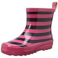 Playshoes Unisex-Child Short Stripes Wellies UC Boots