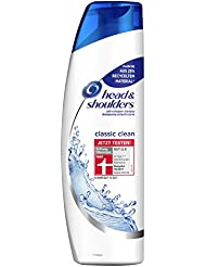 Head & Shoulders Classic Clean Anti-Schuppen Shampoo, 6er Pack (6 x 300 ml)