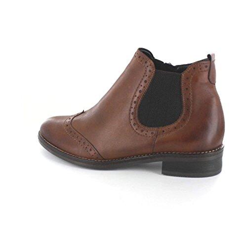 Remonte Damen D8581 Chelsea Boots Braun (Chestnut/Chestnut)