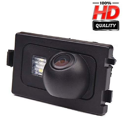 Rückfahrkamera in Kennzeichenleuchte Einparkhilfe Fahrzeug-spezifische Kamera integriert in Nummernschild Licht für Jeep Grand Cherokee 2012/2013 -