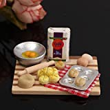 Best Miniature Food Scales - Veena 112 Scale Dollhouse Miniature Kitchen Acessories Food Review