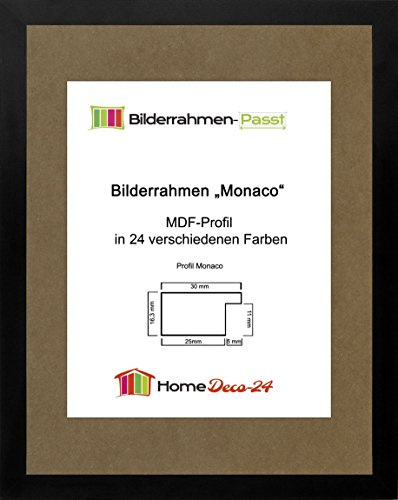 preisvergleich monaco mdf bilderrahmen ohne rundungen 84 x 58 cm willbilliger. Black Bedroom Furniture Sets. Home Design Ideas