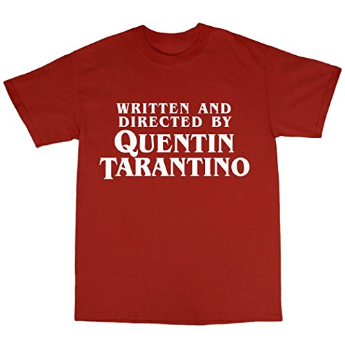 Quentin Tarantino Tribute T-Shirt 100% Baumwolle Rot