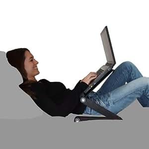 Stand laptop air supporto porta computer da letto divano e scrivania in alluminio con ventole - Porta pc da letto ...