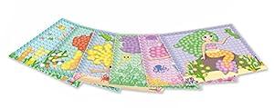 Play maíz 160463-Card Set Mosaic Dream Mermaid, Juego de Manualidades