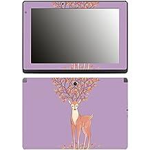 'Disagu SF 106491_ 1182Designer Display Film for Acer Aspire Switch 10E SW3/013/Tree Deer 03Clear