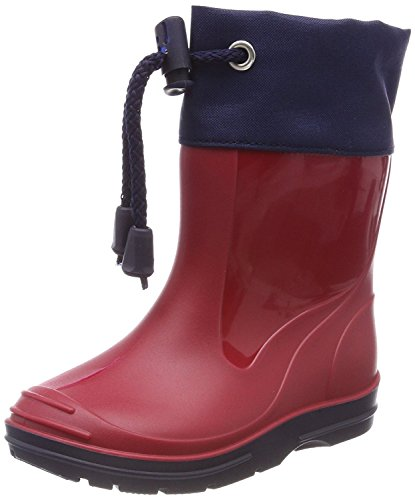 Beck Unisex-Kinder Basic Gummistiefel, Rot (Rot 07), 20 EU (Regen Gummi Jungen Stiefel)