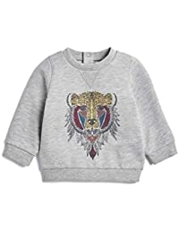 Mamas & Papas Bear Print Sweatshirt, Sudadera para Bebés