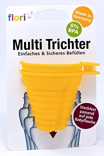 Flori Baby Multi Trichter 2er Set, gelb
