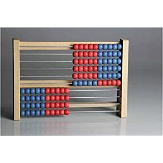 Wissner Wissner080203.500 RE-Wodd 100 Student Abacus, Red/Blue, Multi-Color