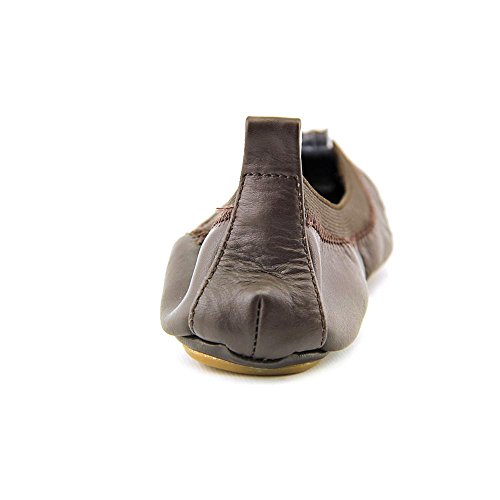 Yosi Samra Samantha Cuir Ballerines brown
