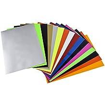 Newcomdigi Papel de Transferencia Termica para Hacer Camisetas Papel Transfer Fotográfico de Impresión en Camiseta y Tela A4 16 Hojas