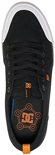 DC – -Uomini Evan Smith S Low Top Scarpe Casual Nero/Arancione