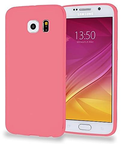 MyGadget Samsung Galaxy S6 / S6 Duos Hülle - soft Silikon TPU Schutz - ultra dünne Schutzhülle - Case Silikonhülle in