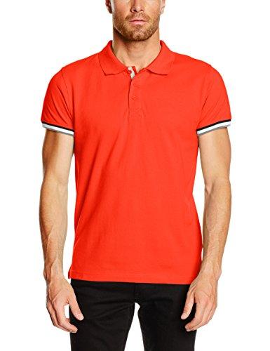 clique-newton-polo-uomo-orange-blood-orange-xxx-large