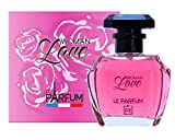 Le Parfum de France Woman Love Eau de Toilette para mujer, 100 ml