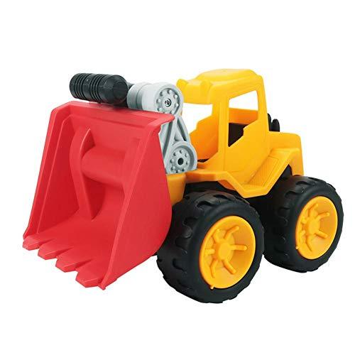Schaufelbagger Baustellenfahrzeuge Ferngesteuert Spielzeug, mit Flexibl Beweglicher Gelenke, für Praktischen Fähigkeiten und Hand-Auge-Koordination Üben Kinder