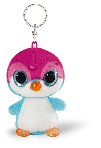 NICI   Llavero Bean Bag pingüino Deezy, 9 cm (38788)