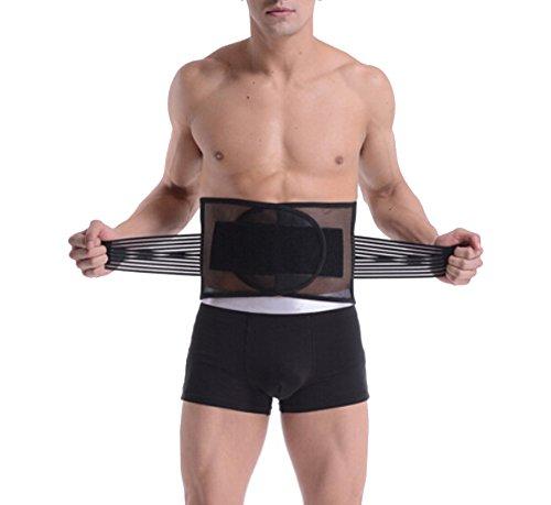 Butterme Männer Breathable justierbare Taille-Trimmer-Gurt, Körper-Former, Gewicht zu verlieren Bauch Fat Burning Slimmerbelt, Sport Taille Unterstützung, beste Taillen-Trimmer-Bier-Bauchbinde - Bodysuit-körper-former