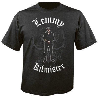 MOTÖRHEAD, Lemmy Kilmister memorial statue - T-Shirt XL (Off Blast T-shirt)