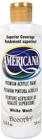 DecoArt Americana Acrylic Multi-Purpose Paint, White Wash