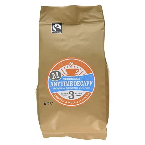 Morrisons Anytime Decaff Ground Coffee, 227g