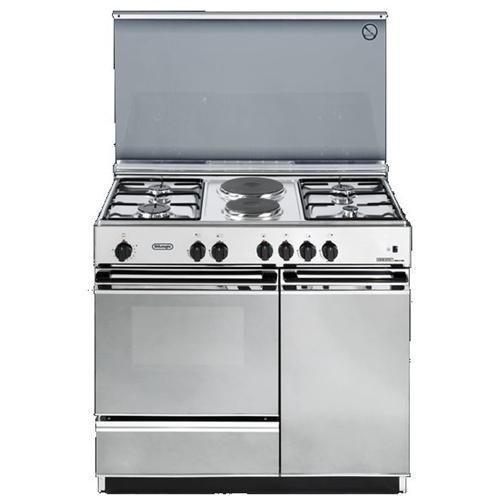 De Longhi Cucina a gas 4 Fuochi 2 Piastre Forno elettrico grill SEX 8542