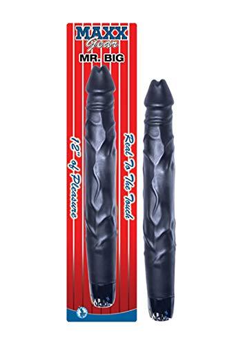 Nasstoys - Mr. Big extra Länge Vibrator - Schwarz, 1 Stück