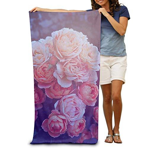 xcvgcxcvasda Asciugamano da Bagno, Soft, Quick Dry, Beach Towels, Pool-Towel for Swimmers Tulips Beach Blanket