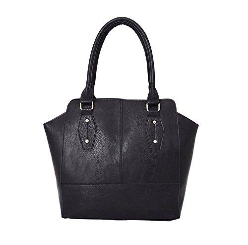 Hautefordiva , Damen Tote-Tasche schwarz M schwarz