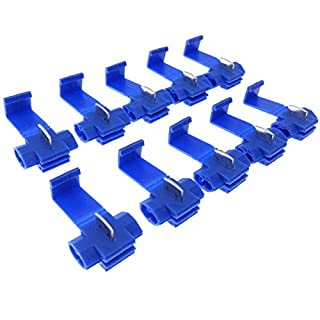 10x Lustre Terminals Quick Connector Power Thief Blue 2.5 mm2