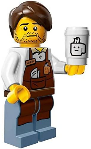 The Lego Movie Larry the Barista Coffee Minifigure Series Series Series 71004 by LEGO | En Ligne Outlet Store