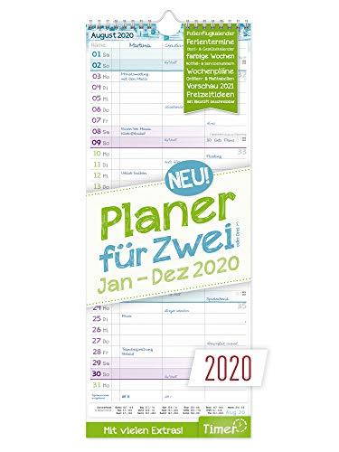 Planer für Zwei 2020 Wandkalende...