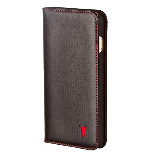 iPhone-7-Custodia-Pelle-Protettiva-case-cover-Ultra-sottile-Pregiata-vera-pelle-Custodia-con-Funzione-di-Supporto-di-Stand-per-iPhone-7-di-TORRO-in-pelle-nera-italiana
