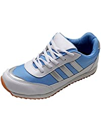 Port Girls Wego Blue Running Shoes