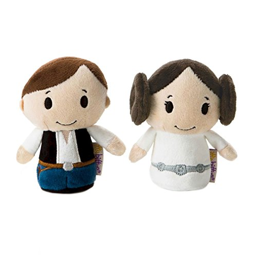 "Hallmark 25471288 ""Star Wars Hans and Leia Itty Bitty"" Toy Set"
