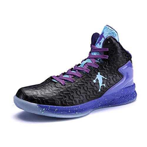 Männer Basketball Schuhe High-Top-Dämpfung Licht Anti-Skid AtmungsAktive Outdoor-Sportschuhe Man Sneakers - 12 Herren-high-top-schuhe, Größe