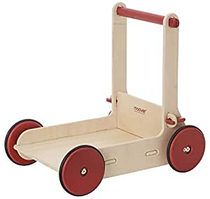 moover toys wagen zum laufen lernen natur spielzeug. Black Bedroom Furniture Sets. Home Design Ideas