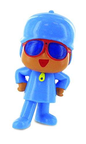 Toppers Pocoyo Comansi 99184 - Figura pocoyo gafas de sol longitud de producto 7 cm