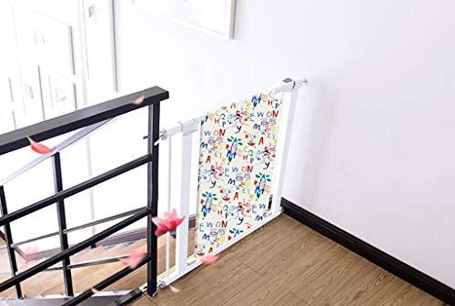 Tür- & Treppengitter Easy Swing & Lock Baby Gate, Ideal Für Standard- Oder Breitere Treppen, Schaukeln Zur Selbstverriegelung. Hardware-Mount Für 75-144cm Breite (größe : 85-92cm) - Mount Hardware