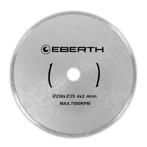 Preisvergleich Produktbild EBERTH 3x Diamanttrennscheibe mit Ø 230 mm (3 Stück, universell einsetzbar, Fliesen, Marmor, Porzellan, Keramik)