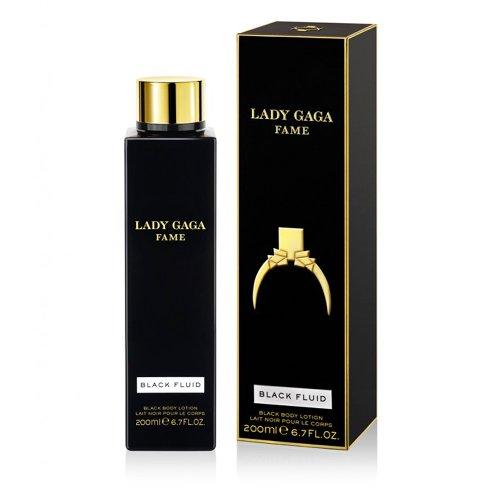Lady Gaga Fame Body Lotion 200 ml, 1er Pack (1 x 200 ml) (Duftende Feuchtigkeitsspendende Lotion)