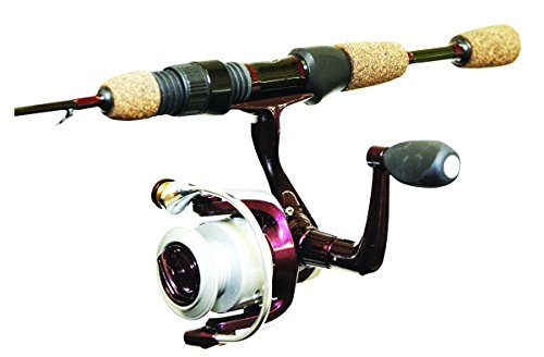 Wright & McGill Tony Roach Ice Light Spinnfischen Combo, 61 cm, braun (Ice Fishing Spinning Rod)