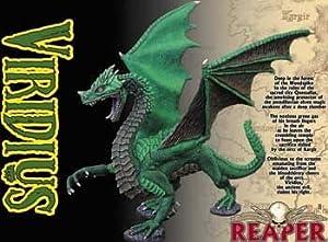 Reaper Miniatures 10021 - Figuras Grandes: Viridius, Big Dragon (sin Pintar) Importado de Alemania