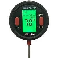 Indoor /& Outdoor Hygrometer ideal f/ür Garten Rasen Luftfeuchtigkeitspr/üfer Bauernhof Keine Batterie erforderlich Bodenwasser-Monitor AnySell Bodenfeuchtigkeitssensor Messger/ät
