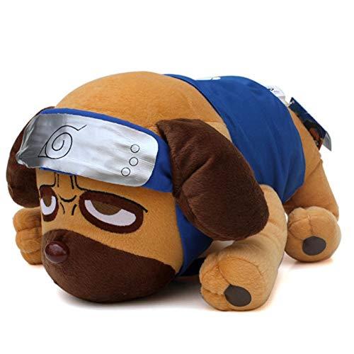 xuritaotao 40 cm Anime Cartoon Naruto Kakashi Pakkun Hund Plüschtiere Puppe Pakkun Hund Plüsch Weiche Kuscheltiere Spielzeug Für Kinder Kinder Geschenke -