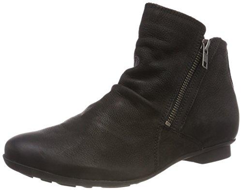 Think! Damen KESHUEL_383125 Biker Boots 00 Schwarz, 37 EU